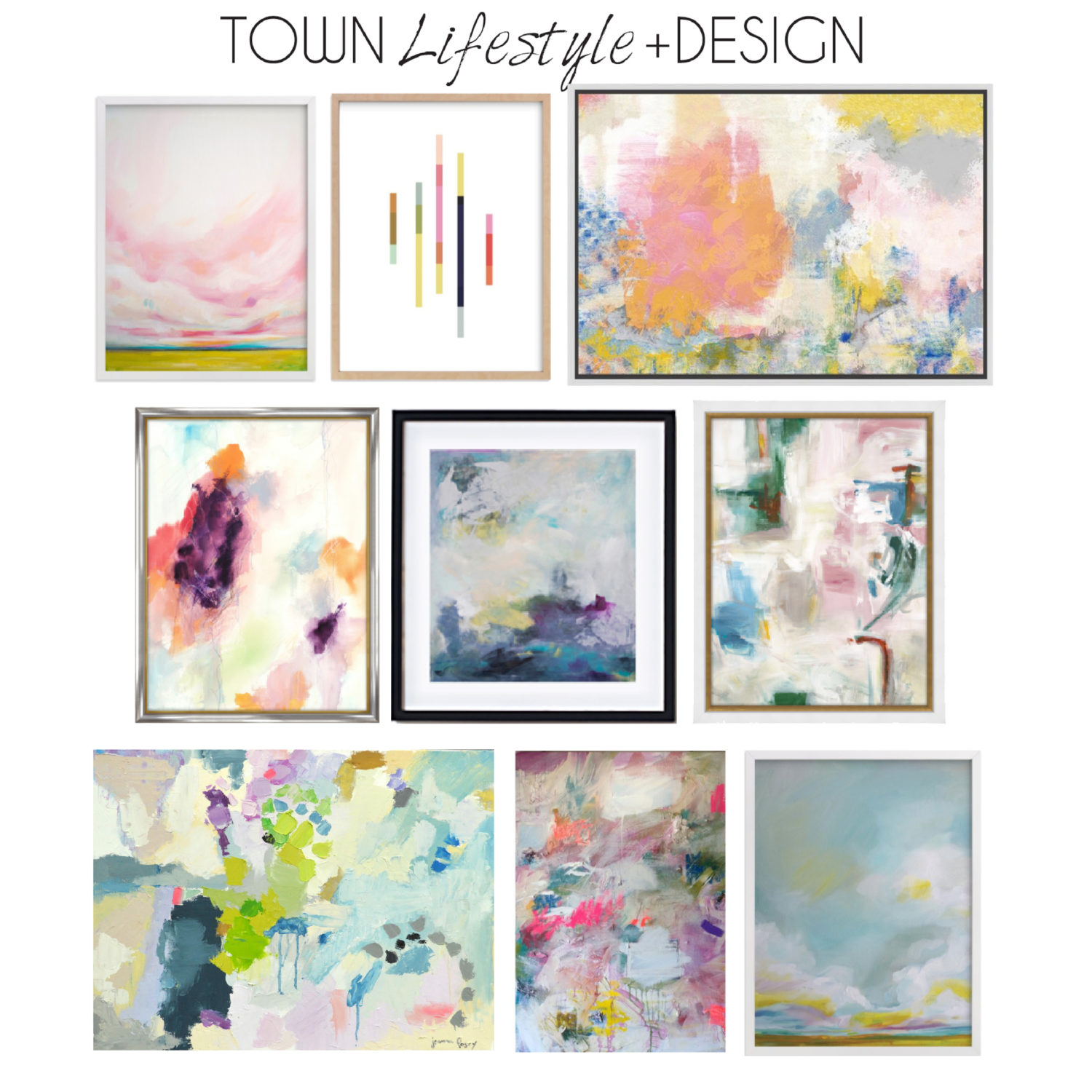 Town Lifestyle and Design || Introducing Project Houston Heights || Artwork Round Up